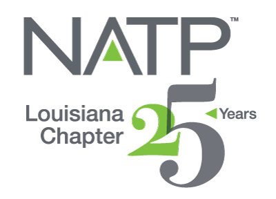 Louisiana Chapter 25 Year Logo